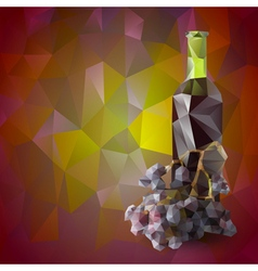 Red wine background vector
