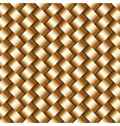 abstract metallic wickerwork pattern vector image vector image