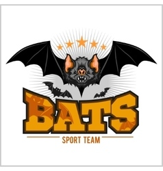 Bats - sport team vector image