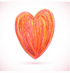 Pastel-heart-color vector