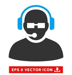Operator eps icon vector