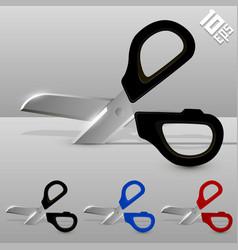 cutting scissors vector image