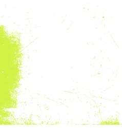 Green White Distress vector image