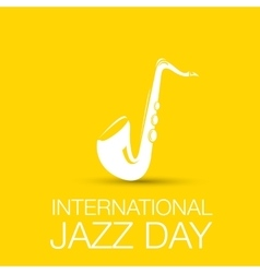 International jazz day vector