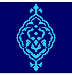 Artistic ottoman pattern series sixty seven vector