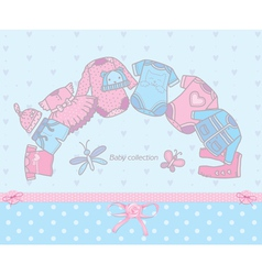 Baby collection vector image