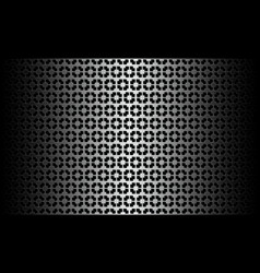 Black white pattern vector