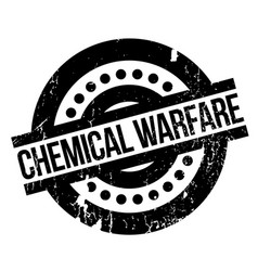 Chemical warfare rubber stamp vector