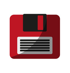 Diskette or floppy disk icon imag vector