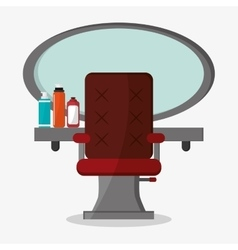 Hair salon and barber shop tools design vector image