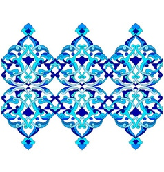 Artistic ottoman pattern series sixty six vector
