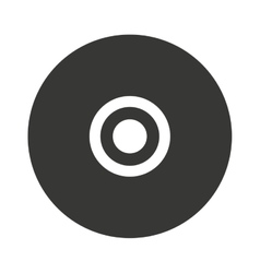 Compact disc isolated icon design vector
