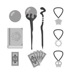 Rpg weapons - magicals vector