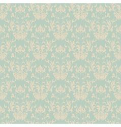Seamless vintage wallpaper pattern vector