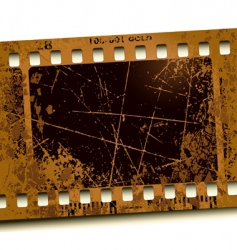photo film vector image