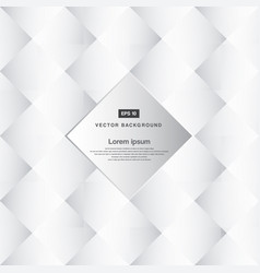 abstract background black and white square vector image vector image