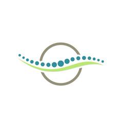 Chiropractic icon logo vector