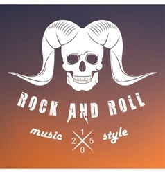 Logo of Rock Music vector image