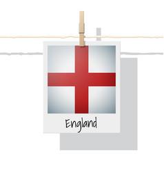 photo of england flag vector image