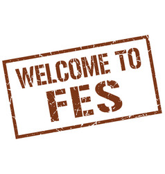 Welcome to fes stamp vector