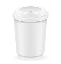 Cup for coffee or tea vector