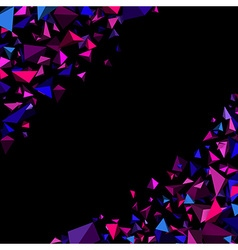 Purple abstract background vector image