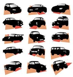 Car set vector