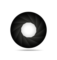 Aperture background vector