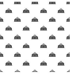 Casino building pattern vector