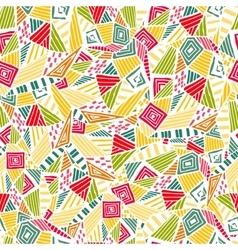 Geometric ethnic pattern design for background or vector