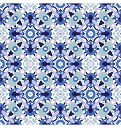 seamless decorative ornate pattern vector image vector image