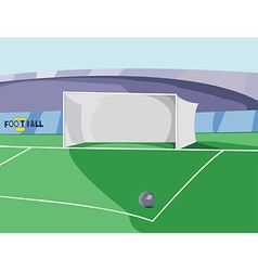 Soccer Goal colorful vector image vector image