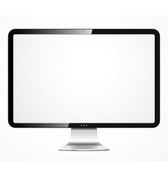 Detailed computer display vector image