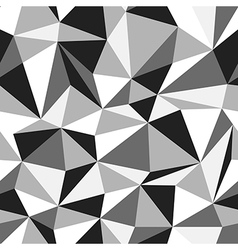 Triangle monochrome pattern vector