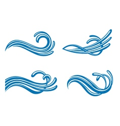 Water design elements vector