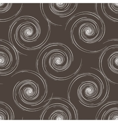 Hand drawn seamless brown and white background vector