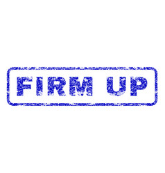 Firm up rubber stamp vector