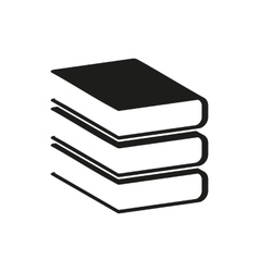Black book simple icon vector