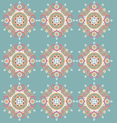 Ornament pattern retro style vector