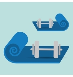 Healthy lifestyle design fitness icon vector