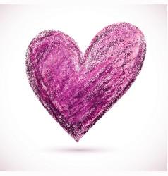 Pastel-heart-purple vector
