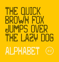 The quick brown fox jumps over the lazy dog vector