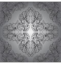 Vintage victorian seamless pattern vector image
