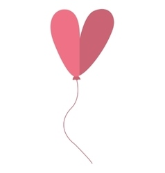 Letter ballooon air cute balloon vector