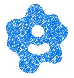 Ameba grunge icon vector
