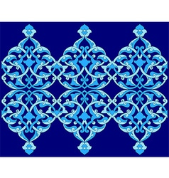 Artistic ottoman pattern series sixty vector