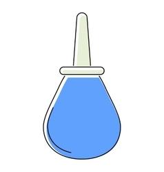 Enema icon flat style vector