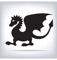 dragon for your design vector image