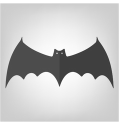 Bat icon for halloween vector