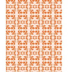 vintage filigree pattern vector image